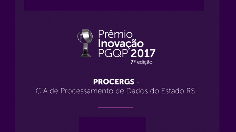 Prmio Inovao PGQP 2017